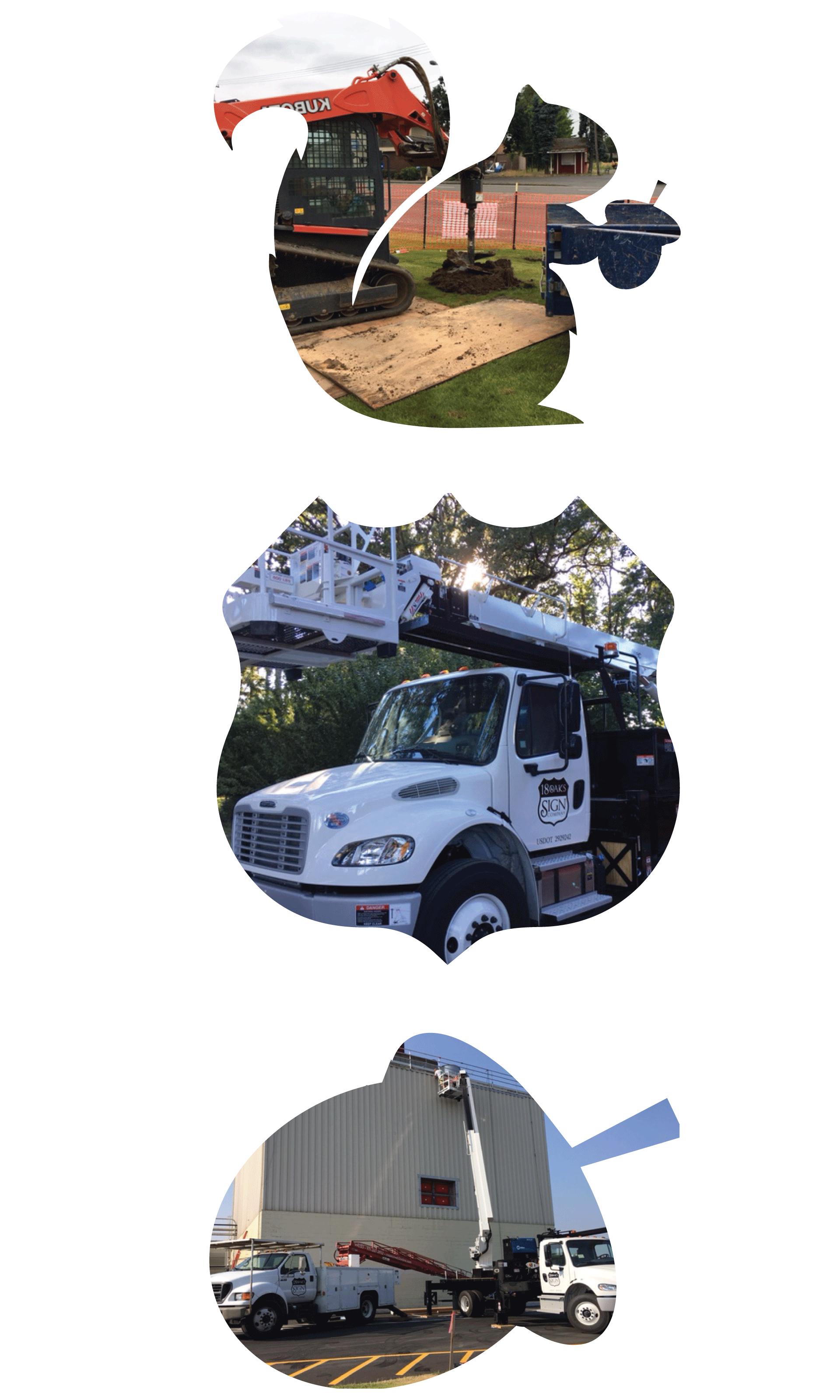 18 Oaks Sign Company Equipment