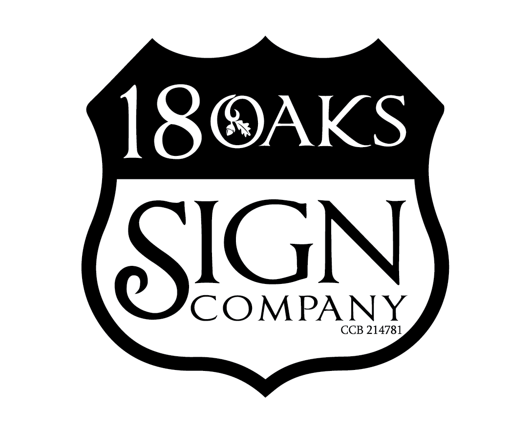 18 Oaks Sign Company